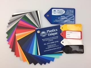 Flexible Plastic Key Tags - Custom Printed or plain