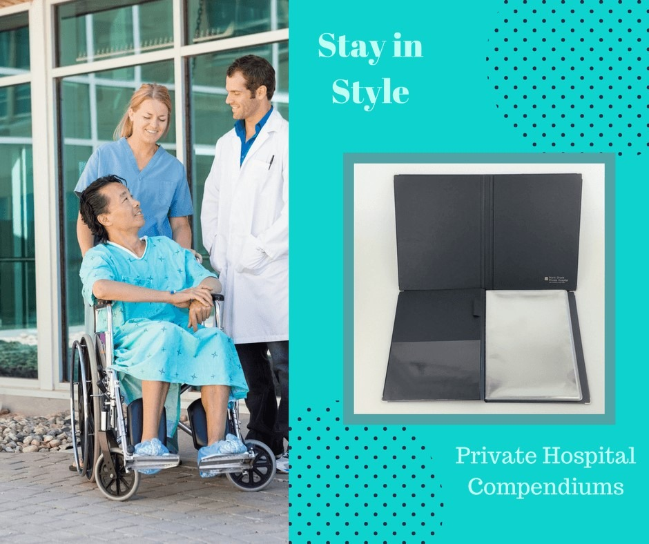 Private Hospital Room Compendiums for displaying patient information