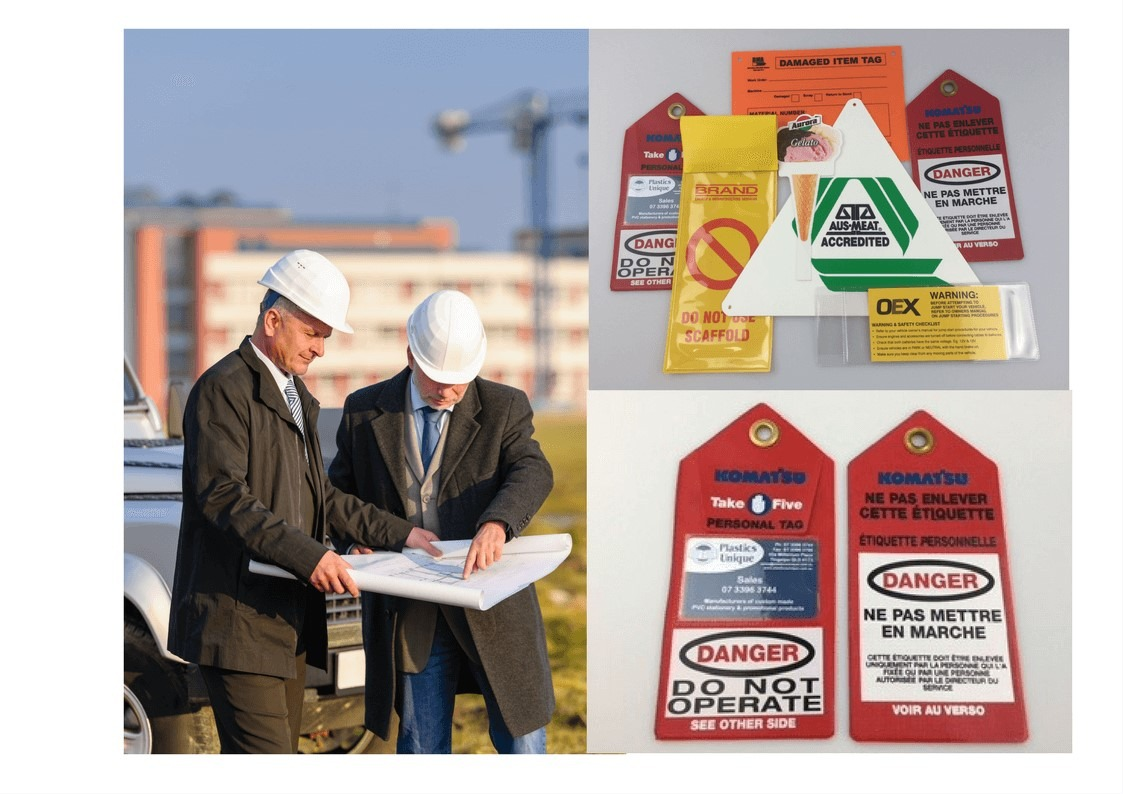 OHS or WHS Danger Tags, Isolation Tags, Damaged Item Tags and other related signage