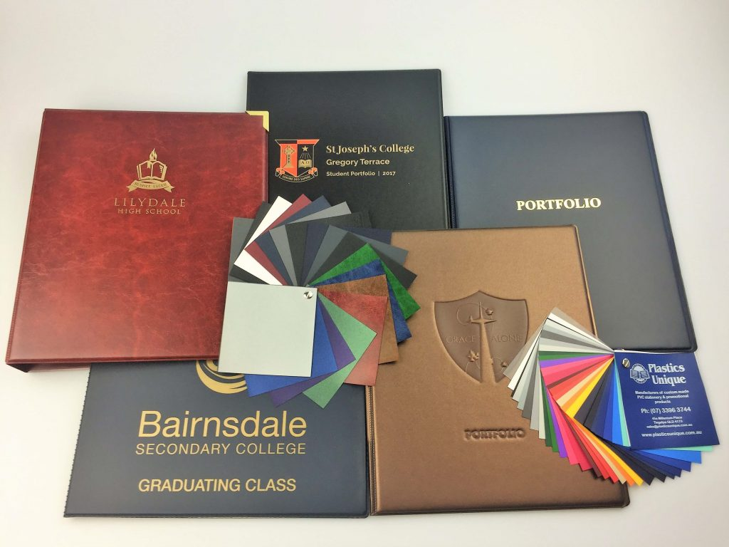 Student Portfolio Folders for Student Graduates to Display Certificates and Awards