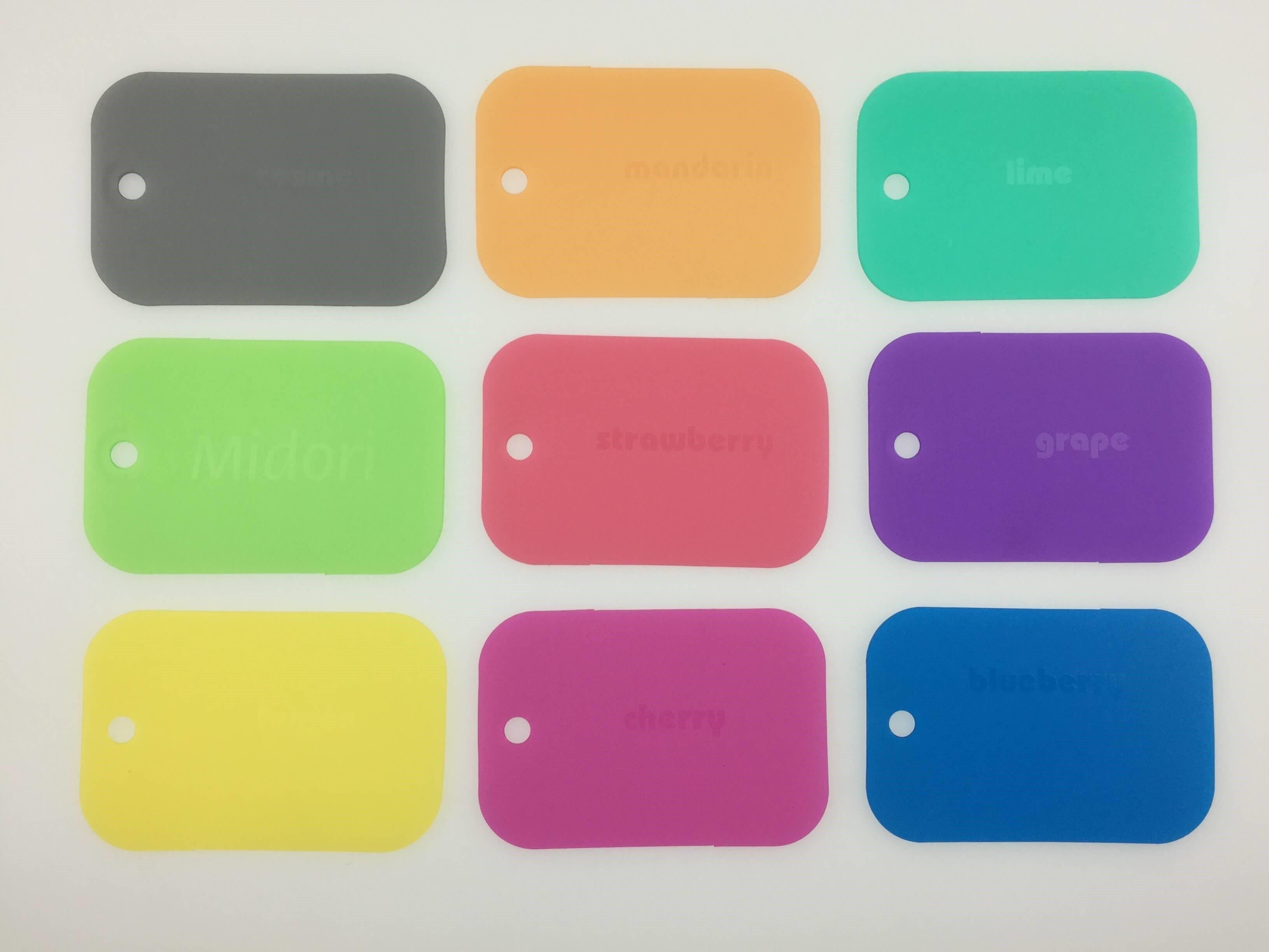 Plastics Unique's Transparent Polypropylene Colour Range